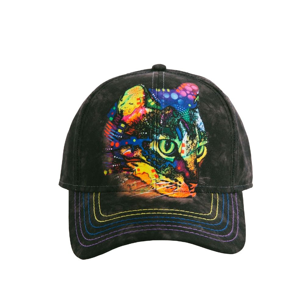 Mysterio Gaze Cat Baseball Cap - The Mountain®